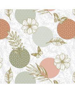 rondjes, bloementjes, vlinders