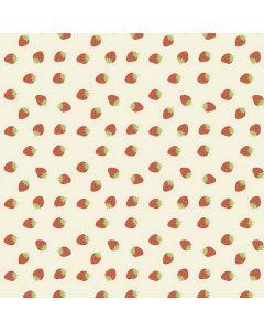 tafelzeil-captain-cook-roos-rood-fruit-aardbeien-zomers-lekker-speels