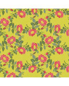 captain-cook-tafelzeil-160cm-groen-geel-roos-wildflowers-bloemen-natuur-lente