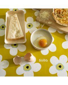 nappe-de-table-Lola-toile-cirée-fleurs-jaune