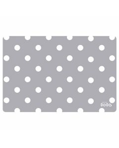 Napperons-Lola-plastique-gris-pois-Lollipop-Pacific