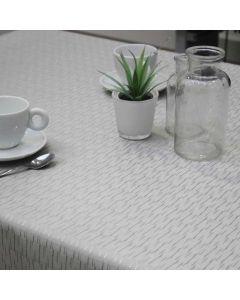 Polyline-tafelzeil-zilver-jaspe-luxe-klassiek